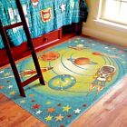 KIDS RUGS KIDS AREA RUG CHILDRENS RUGS PLAYROOM RUGS FOR KIDS ROOM COLORFUL  ~