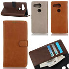 For LG Nexus 5X Retro Luxury Men's Leather Flip Wallet Stand Card Case Cover