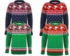 MEN GENTS KNITTED CHRISTMAS XMAS CUFF JUMPER FAIRISLE SKI TOP SWEATER S M L XL