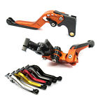 GAP Extendable Folding Brake Clutch levers for Kawasaki Z750 07-12 Z800 13-14