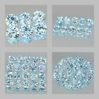 1.75mm Lot 6,10,20,50pcs Round Cut Calibrated Size Stone Natural Sky Blue TOPAZ