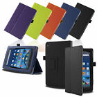 Smart Stand Leather Case Cover For 2015 Amazon Kindle Fire 7 HD 8 10 w/SleepWake