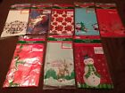 "US Seller 54""x108"" Plastic Table Holiday Table Covers 8 Choices"
