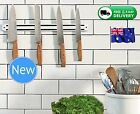 Magnetic Knife Rack IKEA Wall Mount Storage Holder Utensil Chef Kitchen Tools 2x
