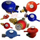 LPG Gas Red Propane Regulator or Blue Butane Reg Choice of Model. BBQ or Camping