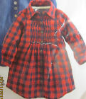 Girls dress checked NEXT baby 9 12 18 months 2 3 4 5 years