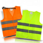 Reflective vest working clothes provide high visibility for running cycling walk
