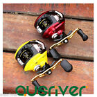 10+1BB Ball Bearing Right/Left Handed Low-Profile Baitcasting Fishing Reel 6.3:1
