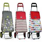 SABICHI SHOPPING TROLLEY INSULATED CART COLLAPSIBLE LIGHTWEIGHT FOLDING BAG
