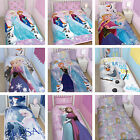 Disney Frozen Elsa Anna Olaf Kristoff Childrens Duvet Quilt Cover Bedding Set
