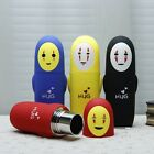 New Spirited Away No Face Stainless Steel Vacuum Thermos Water Bottle Travel Mug
