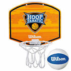 WILSON KIDS MINI HOOP FANATIC BASKETBALL KIT - NEW JUNIOR BOYS GIRLS NBA NCAA