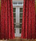 Floral Design WINDOW Curtain NO1 QLTY FABRIC MADE SCREEN CUSTOMIZED LOOP TYPE