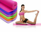 Mat Yoga Nonslip Excercise Thick Fitness Pilates Gym Camping Physio Workout Foam
