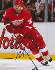 Mike Modano Detroit Red Wings autographed signed 8x10 Photograph w/COA