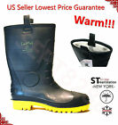 Winter Snow Rain Boots Men Water Shoes Warm Lined Thermolite Rubber Insulated