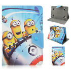 Cartoon Universal Stand Leather Folio New Cover Case For 7 Inch Tablet PC+Stylus