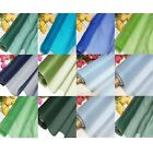 By Meters ECO 100% Pure Silk Organza Green Blue Choices 1 Bridal Dress Material
