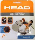 HEAD SONIC PRO 16 tennis racquet string set black Auth Dealer flat rate shipping
