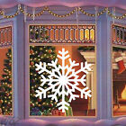 Merry Christmas Snowflake Large Art Decal Vinyl Sticker For Window Wall Panel