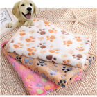 Warm Cat Dog Coral Fleece Pet Pad Cozy Nest Snoozer New Blanket Beds Mat AJ20