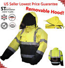 Hi Vis Insulated Safety Bomber Reflective Jacket Road Work HIGH VISIBILITY JO