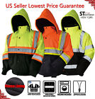 Kyпить Hi Vis Insulated Safety Bomber Reflective Jacket Road Work HIGH VISIBILITY JO на еВаy.соm