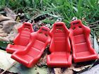 Recaro Style Type R Racing Seat SRD SPG POLE POSITION Keychain JDM RED