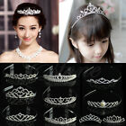 Wedding Bridal Comb Tiara Crown Crystal Rhinestone Pageant Prom Hair Headband