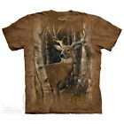 NEW BIRCHWOOD BUCK Deer Stag Wildlife The Mountain T Shirt Adult Sizes