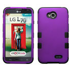 For LG Optimus L70 MS323 MetroPCS Exceed 2 Verizon Hybird Hard Protective Case