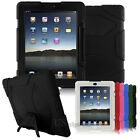 Hard Case For iPad 2/3/4 3rd Shockproof Heavy Duty Rugger Hard Cover