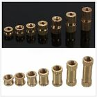 25/100 Pcs M3*3-12mm Brass Copper Metric Threaded Knurl Insert Nut 4/5mm(OD)