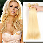 3Bundles Brazilian Virgin  Virgin Hair Weaves Hair Extensions #613  blonde 150g