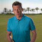 Mens Glenmuir Pique Classic Slim Fit Golf Sports Polo Shirt Top 6 Colours