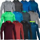 Under Armour 2016 Tech Popover Henley Training Shirt Hoody Mens Sports Cover-Up