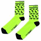 Selle San Marco Neon Cycling Socks , Fluo Yellow