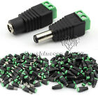 Female&Male 5.5X2.1 DC Power Connector Adapter Pigtail Plug For CCTV / LED Strip