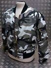 MA1 US Military Style Bomber Jacket MOD/Scooter Urban Camo All Sizes - NEW