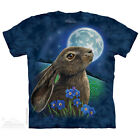 NEW MOON GAZER Spring Hare Rabbit Moongazer by Lisa Parker The Mountain T Shirt