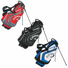 CALLAWAY MENS CHEV STAND BAG -NEW GOLF CARRY DUAL STRAP LIGHTWEIGHT COLOURS 2016