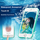 iPhone 8 7 6s 6 Plus Waterproof Shockproof Hybrid Rubber Case Cover For Apple