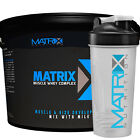 MATRIX MUSCLE WHEY COMPLEX PROTEIN POWDER DRINK SHAKE - STRAWBERRY ALL SIZES X2