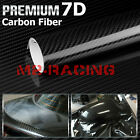 3D 4D 5D 7D Forged Matte Gloss Semi Black Carbon Fiber Vinyl Wrap Sticker