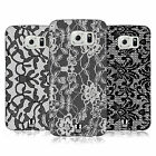 HEAD CASE DESIGNS BLACK LACE HARD BACK CASE FOR SAMSUNG PHONES 1