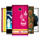 HEAD CASE DESIGNS HEADCASE MIX CHRISTMAS COLLECTION BACK CASE FOR NOKIA PHONES 3