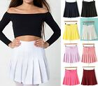 New Sexy WomenSlim Pleated Thin High Waist Tennis Skirts Mini Dress Playful Hot