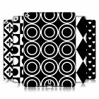 HEAD CASE DESIGNS BLACK AND WHITE PATTERNS HARD BACK CASE FOR APPLE iPAD