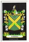 O'DOWD Family Coat of Arms Crest - Choice of Mount or Framed
