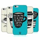 HEAD CASE DESIGNS COFFEE FIX SOFT GEL CASE FOR APPLE iPHONE PHONES